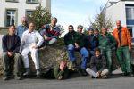 Nettoyage de la colonie de Martinet alpin au Lycée du Collège St-Michel