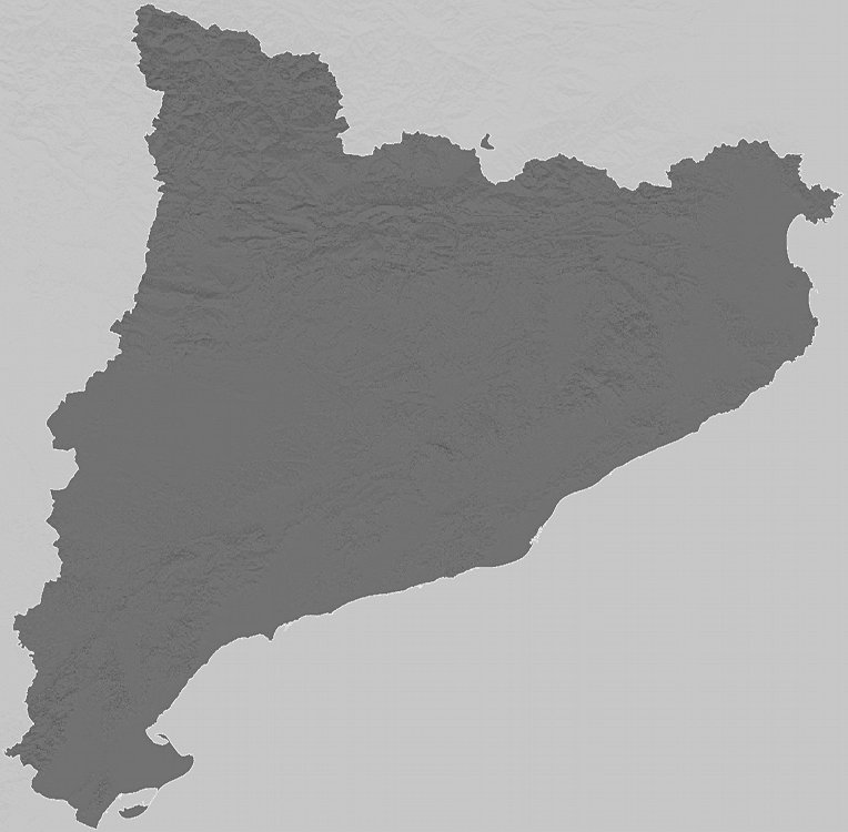 Relief map