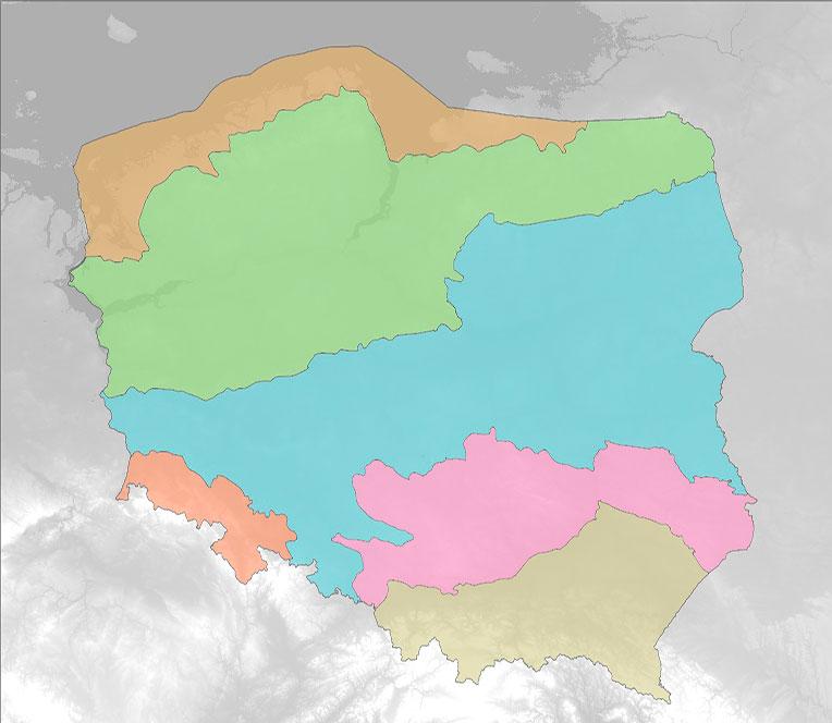 Biozone map